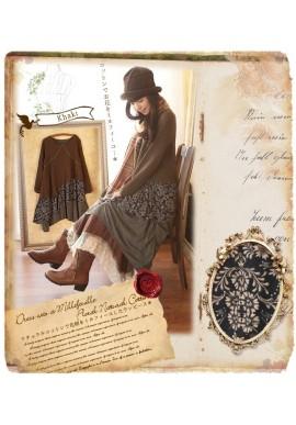 Robe tunique Mori Girl asymétrique