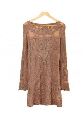 Robe tunique esprit vintage Pyla